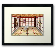 Animal - The Egret Framed Print