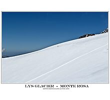 lys glacier Photographic Print