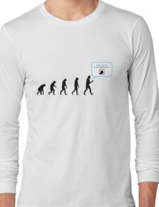 99 Steps of Progress - Instant network Long Sleeve T-Shirt