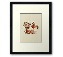 Cheer Up! She Found You. Framed Print