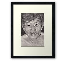 By the Way Framed Print