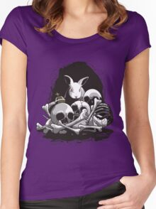 BEAST OF CAERBANNOG Women's Fitted Scoop T-Shirt