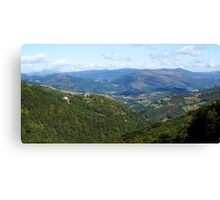 Navarre Landscape Canvas Print