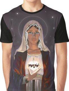 Immaculate Heart of Mary Graphic T-Shirt