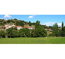 Village Panorama Photographic Print