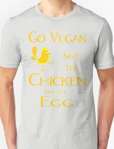 Save the Chicken and the Egg Unisex T-Shirt
