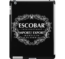 Escobar Import and Export WHITE iPad Case/Skin