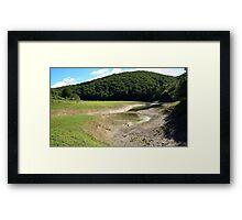 Leurtza Reservoir (3) Framed Print