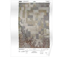 USGS Topo Map Washington State WA Alstown 20110425 TM Poster