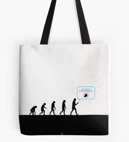 99 Steps of Progress - Instant network Tote Bag
