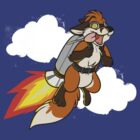 Rocket Fox by GatorBites