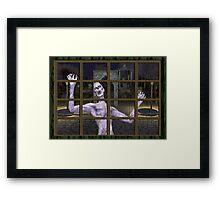 Let .. Me .. In Framed Print