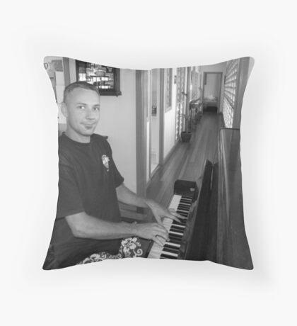 Batchelor Retreat Throw Pillow