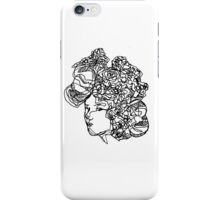 Flowery face iPhone Case/Skin