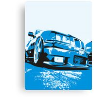 Pop art BMW E36 Canvas Print