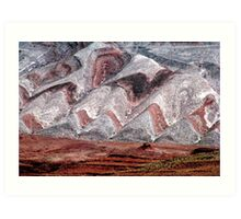 Mesa at Mexican Hat Art Print