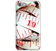 Measuring Tape iPhone Case/Skin