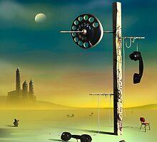 O Telefone. by Marcel Caram