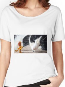 Cat-Woman Women's Relaxed Fit T-Shirt