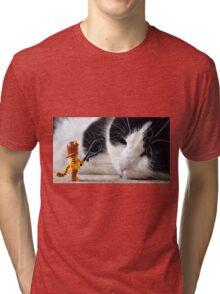 Cat-Woman Tri-blend T-Shirt