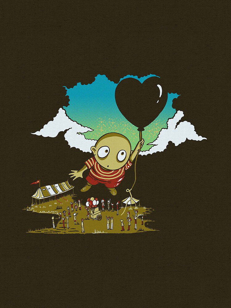 Lament of the Balloon Thief by BootsBoots