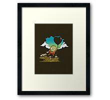 Lament of the Balloon Thief Framed Print