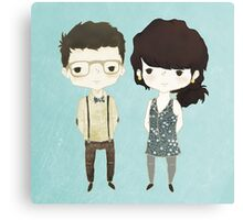The Happily Im-Perfect Couple Canvas Print