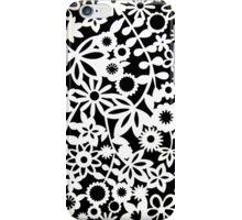 Floral Stencil print iPhone Case/Skin