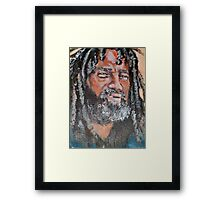 of STRENGTH AND RESILIENCE Framed Print