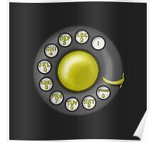 Rotary Phone Dial Poster