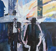 Old Man Walking. by Richard Sunderland