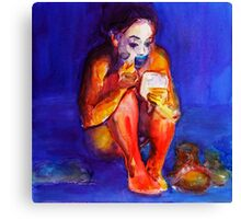 """Make-up"" Canvas Print"