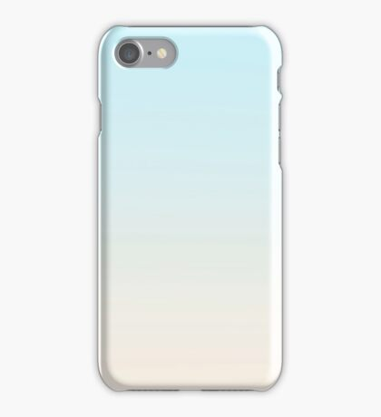 SKY HIGH - Plain Color iPhone Case and Other Prints iPhone Case/Skin