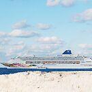 Norwegian Cruise Ship by Sweetpea06
