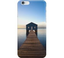 River Boatshed iPhone Case/Skin