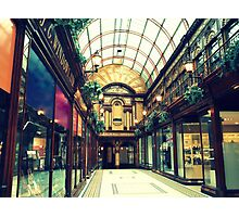 The Central Arcade Photographic Print