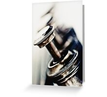 Tough Trumpet... Greeting Card