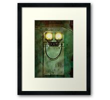 Steampunk - Be Happy Framed Print