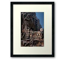 Angkor Thom Balcony Framed Print