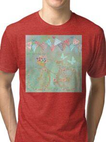 You Spread Joy Wherever You Roll happy art Tri-blend T-Shirt