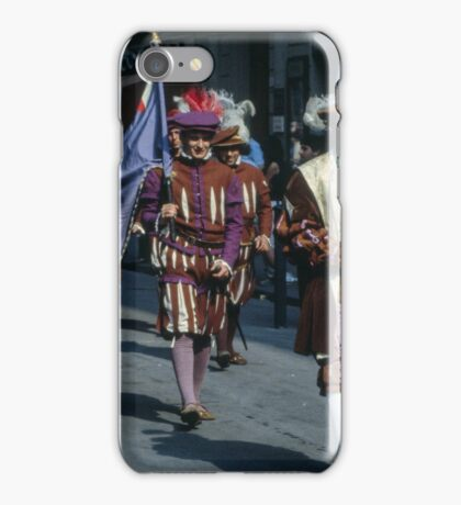 C16 Costume Parade Florence Italy 19840708 0031 iPhone Case/Skin