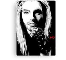 Blond Bill Canvas Print
