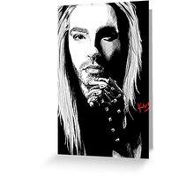 Blond Bill Greeting Card