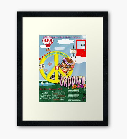 Grooven at SF1 Framed Print