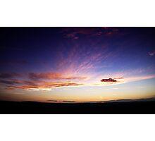 September sunset 1  Photographic Print