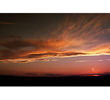September sunset 2  Photographic Print