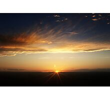 September sunset 3  Photographic Print