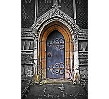 The Church Door  Photographic Print