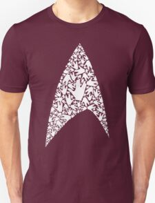 Live long and wear the Starfleet insignia Unisex T-Shirt