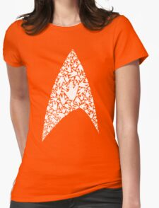 Live long and wear the Starfleet insignia Womens Fitted T-Shirt